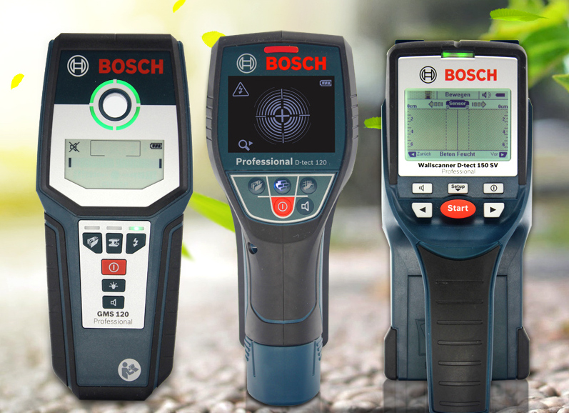 Gms120 VS d-tech 120 de bosch professionnel