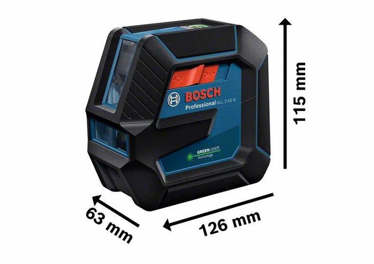 Bosch gll 2 15 niveau laser